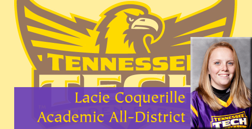 Coquerille named CoSIDA Academic All-District for second straight year