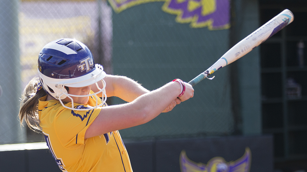 LaSala drives in five as Tech splits with SIUE