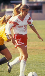 Brandi Chastain Inducted Into The WCC Hall Of Honor