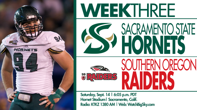 FOOTBALL HOSTS SOUTHERN OREGON IN HOME OPENER ON SATURDAY