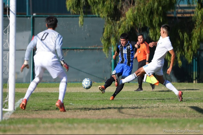 Bryan Ortega scored the game-winning goal against Cuyamaca