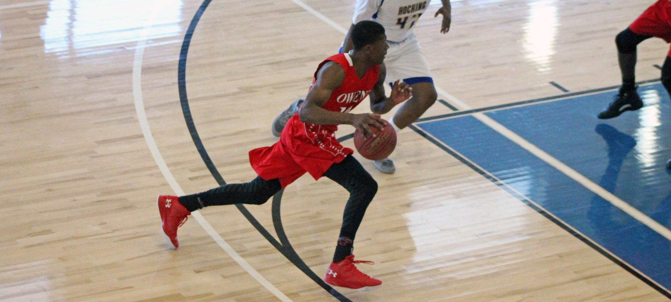 Strong First Half Carries Owens MBB Past Hocking College 88-72