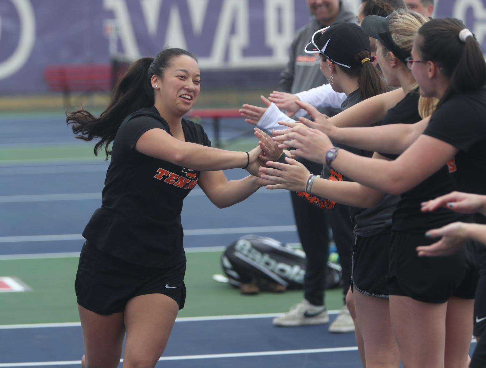 Lewis & Clark Pioneers season ends at NWC Championships Semi-Finals