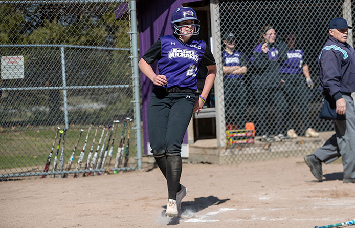 Softball Swept by 16th-Ranked Southern New Hampshire
