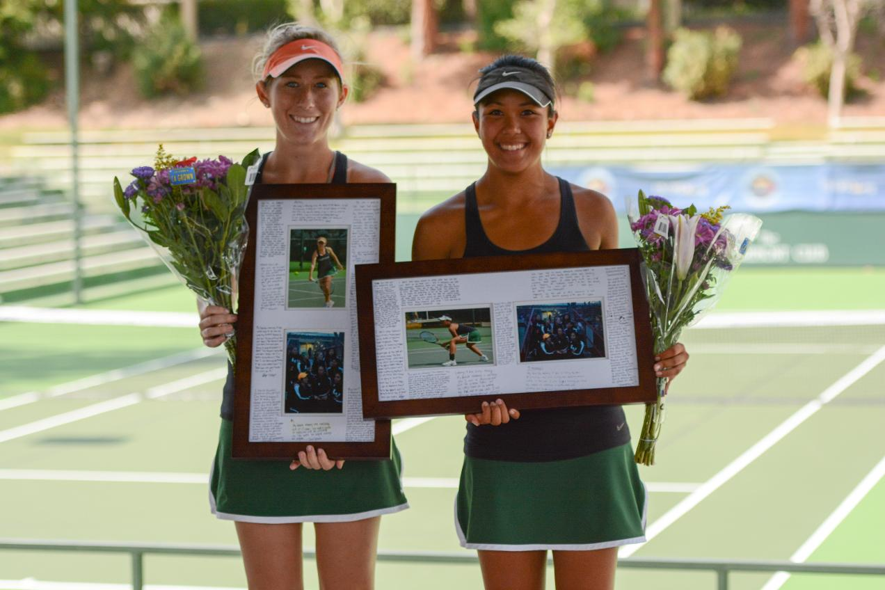 No. 16 Tennis Falls to No. 5 CMS on Senior Day