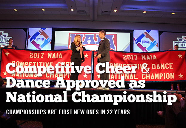 Competitive Cheer and Dance Approved as 24th & 25th National Championships