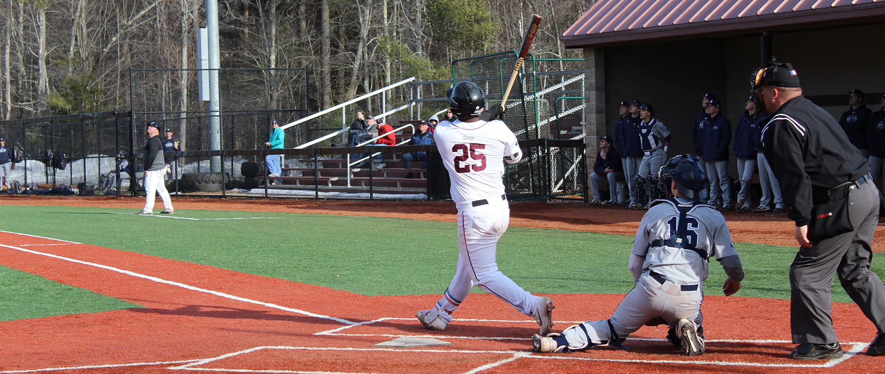 Baseball Takes Care of Business in Home Opener, Blanks Saint Anselm, 7-0