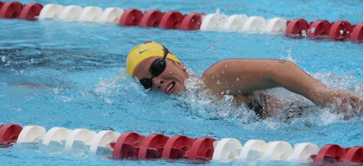 Women's Swimming Falls to IRSC in Friday Showdown