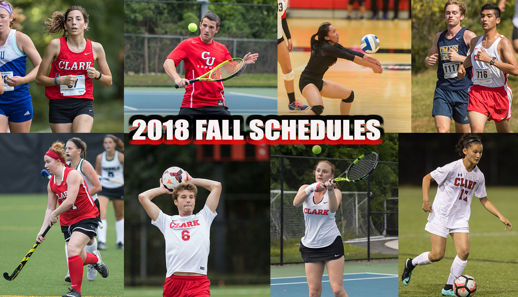 2018 Fall Schedules Released