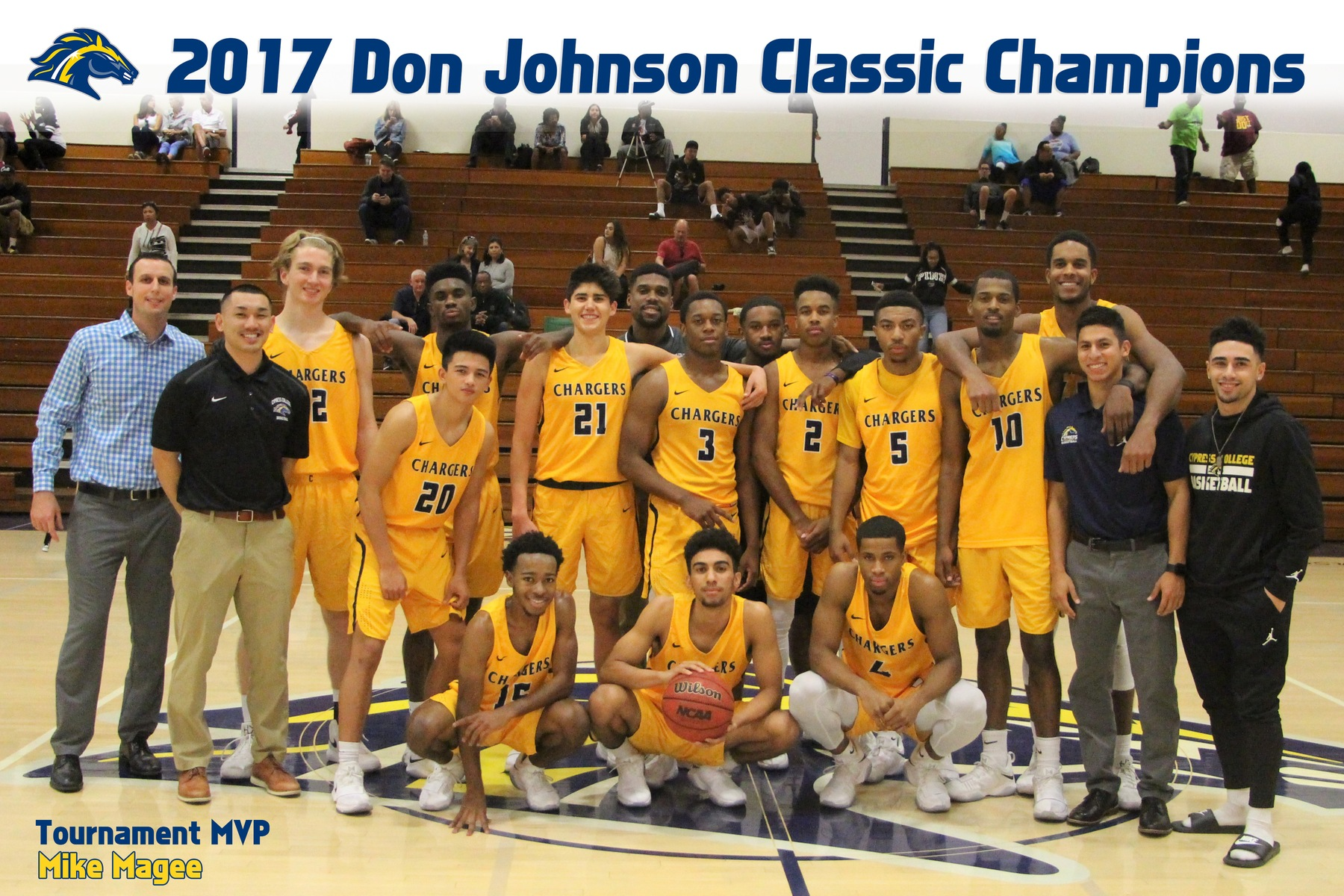 Chargers Crowned Champions of 3rd Annual Don Johnson Classic