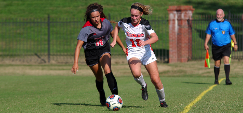 Brooke Radcliffe scored in the 31st minute for the Pioneers (photo by Chris Lenker)