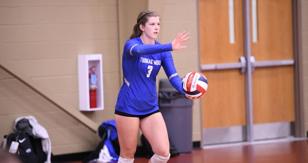 Saints Sweep Montreat and Union at Vette City Volleyball Classic