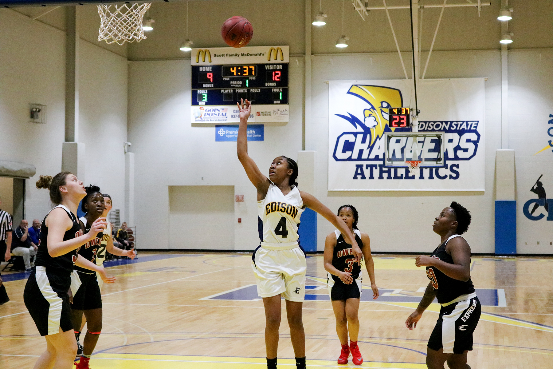Lady Chargers Improve to 2-0 in OCCAC