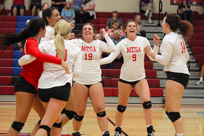 #13 Mesa Takes Down Eastern AZ in Four Sets