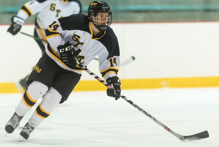 Ice Hockey Falls to Worcester State 3-2 in Overtime