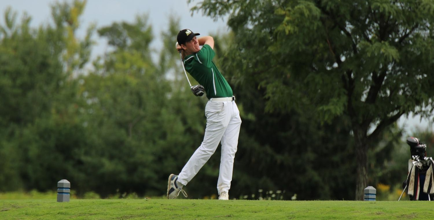 Freshman Ryan Murrelle tied for second to lead Keuka College on Wednesday