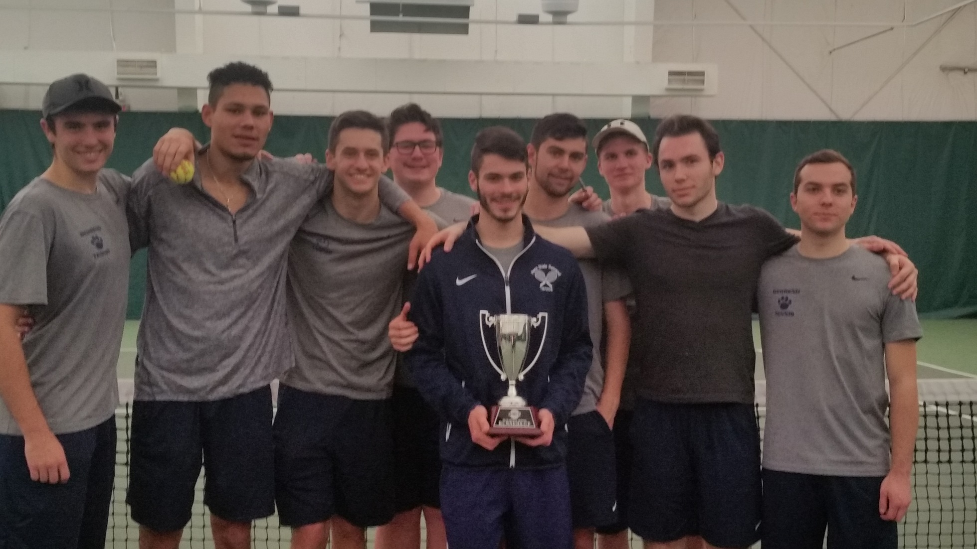 Men's Tennis Finishes Second at AMCC Championship