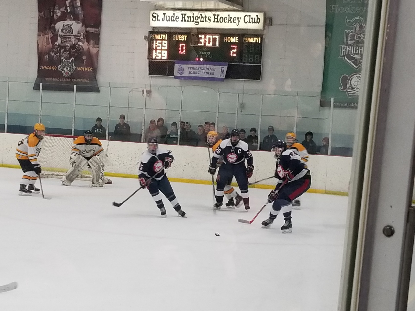 Skating Mustangs Advance in Kennedy Cup Playoffs