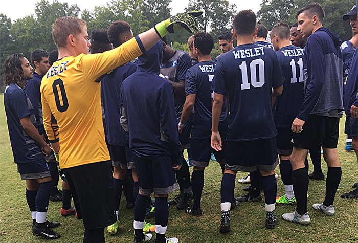 Wesley falls in season opener to Randolph-Macon