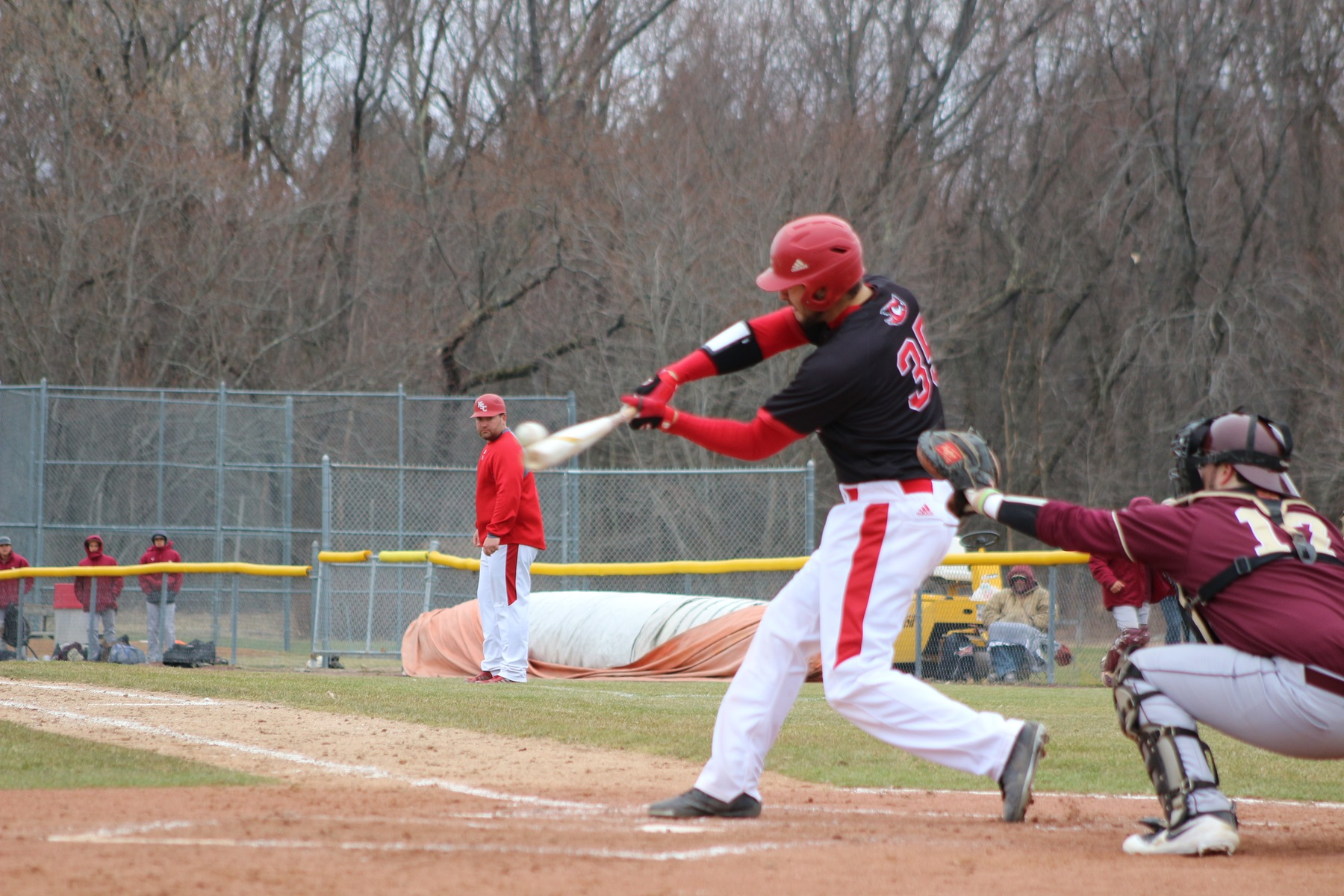 Springfield, Rossi's Big Swings Power KSC Baseball Past New England College