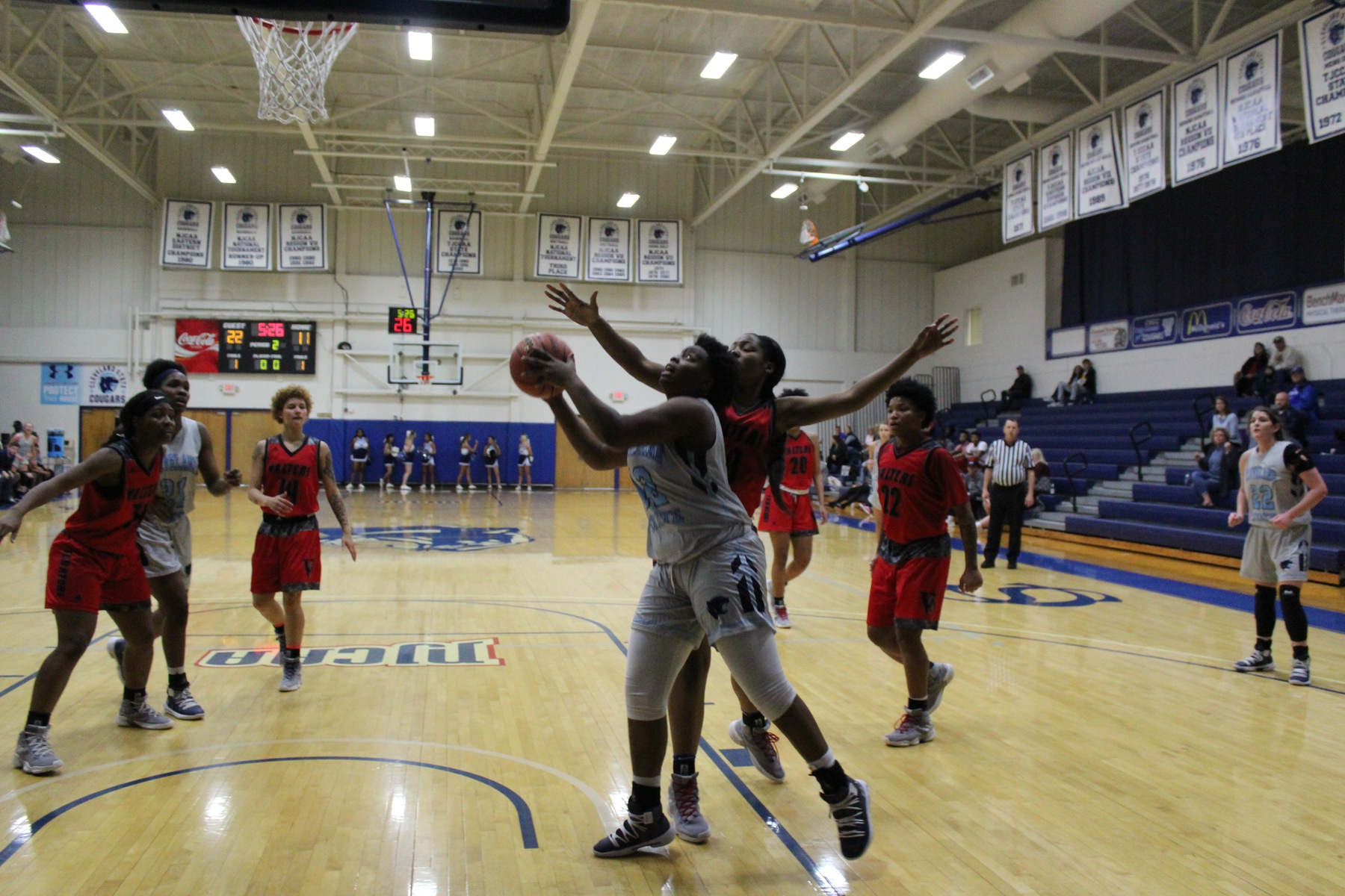 PREVIEW: Lady Cougars Start Last Road Trip of Season