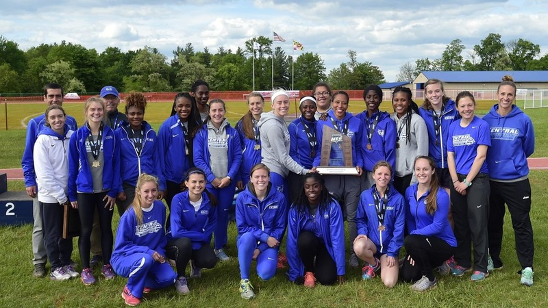 Women's Track Finishes as 2017 Northeast Conference Runner-Up