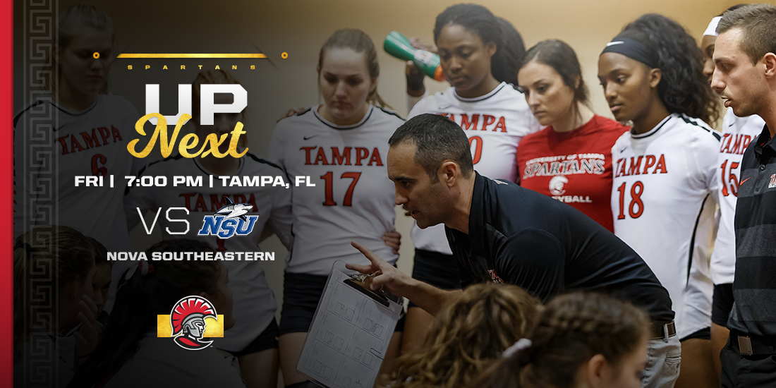 No. 4 Spartan Volleyball to Clash with Nova Southeastern
