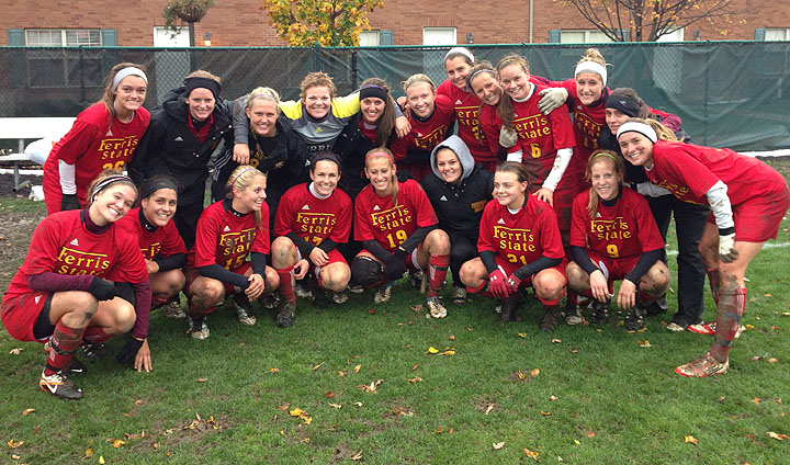 Shauman's Goal With 12 Seconds Remaining Lifts FSU To GLIAC Tourney Win