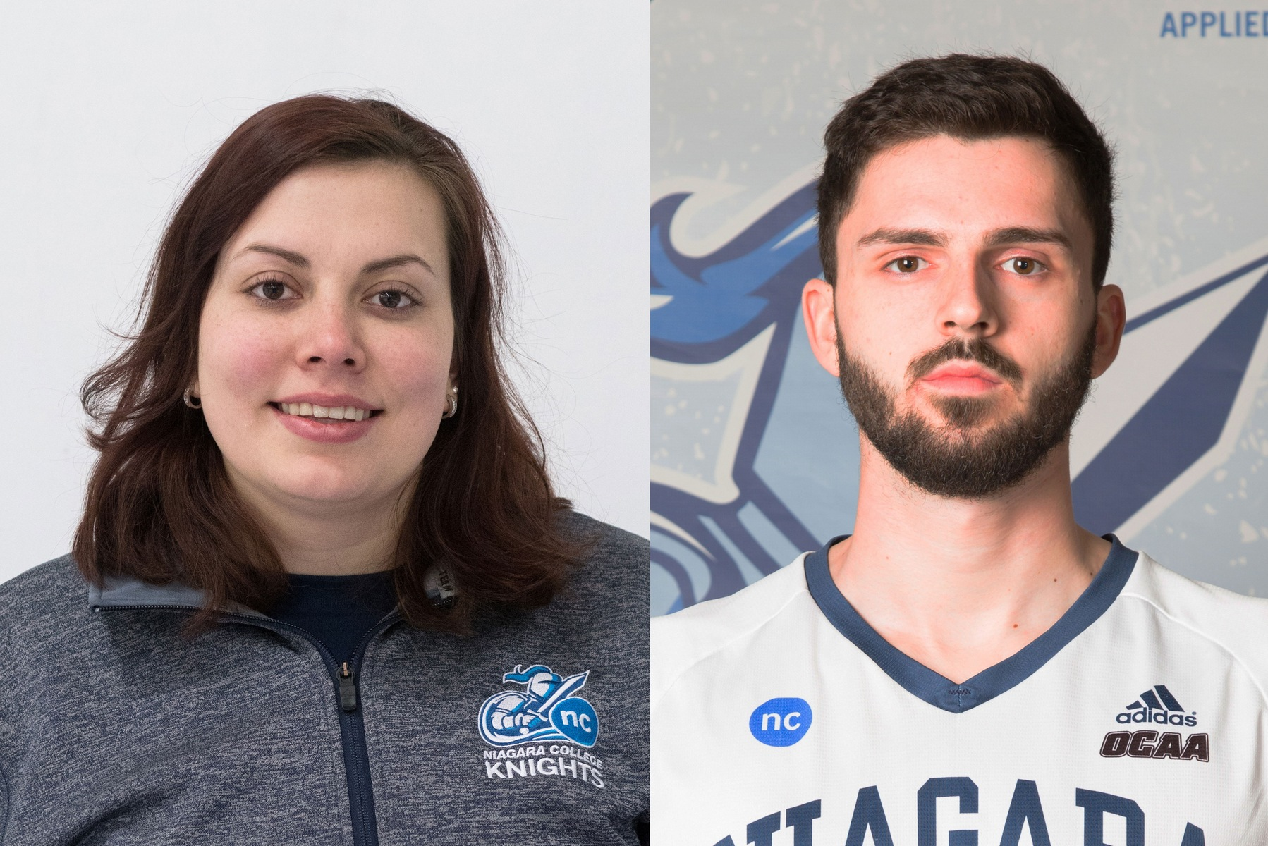 Emma Caldwell and Jeff Scott Named Athletes of the Week