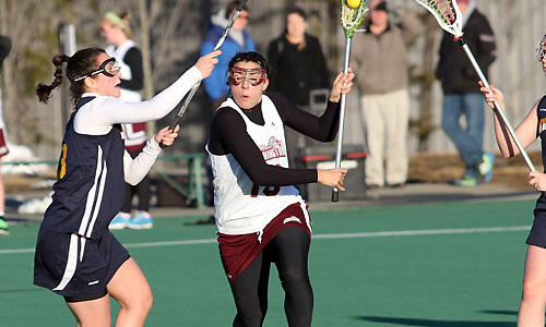 Women's lax unable to keep pace with fast-starting Castleton State