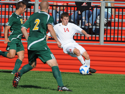Saginaw Valley Defeats Lake Erie in Overtime, 2-1