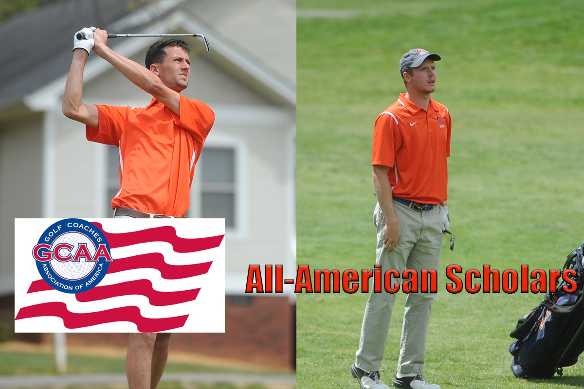Hall, Kennedy Named All-American Scholars by GCAA