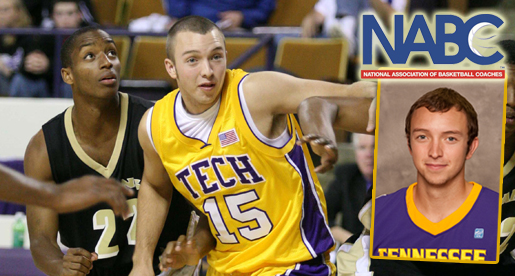 Hunley nets NABC Honors Court recognition