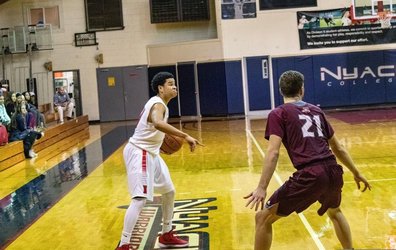 Warriors Men's Basketball Steals the Win Over Assumption College in Season Home Opener