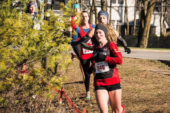Cold doesn't slow down runners at Cross-Country Running Nationals