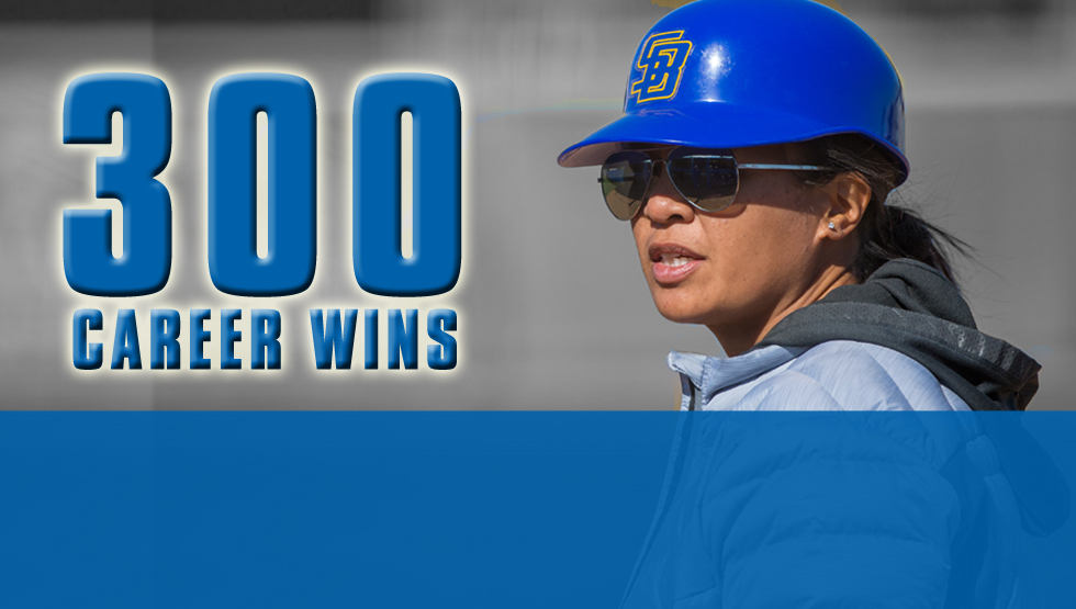 Brie Galicinao is the 11th Big West coach to reach 300 career wins.