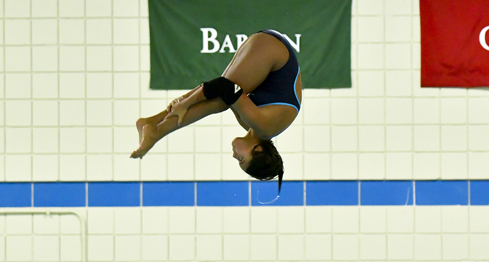 Nemivant Finishes 19th in 1-meter Event at NCAA Diving Regionals