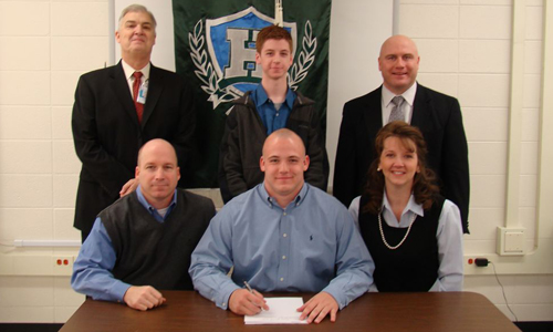 Patrick Keller signs to play for the Tornados in 2009