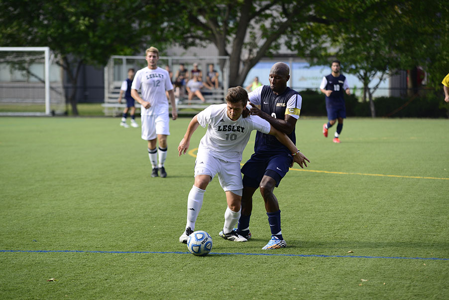 Men's Soccer and Emmanuel Battle to Double Overtime Draw