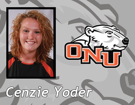 Yoder scores career high 20 Points to lead Women's Basketball to 67-55 victory over Baldwin-Wallace