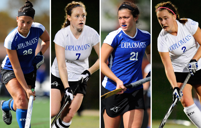 Four Diplomats Earn All-Region Accolades