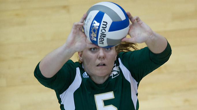 WINNING STREAK COMES TO AN END AS VOLLEYBALL FALLS AT NORTHERN ARIZONA