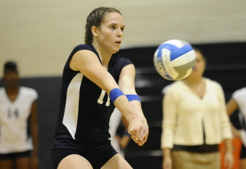 UMW Volleyball Splits Pair at Va. Wesleyan