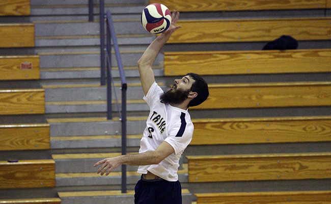 Men's Volleyball Shut Out by Greenville