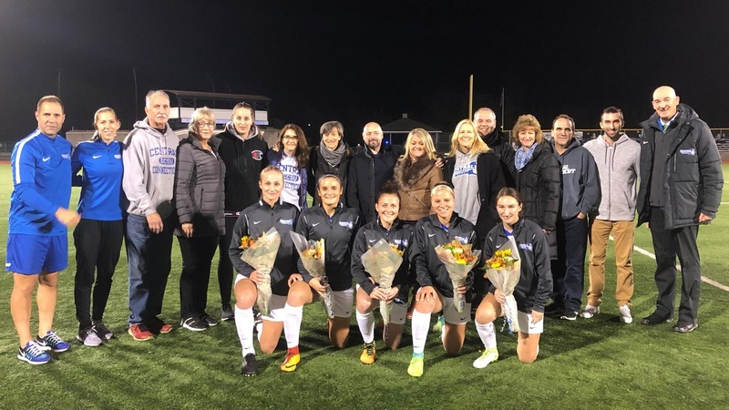 D'Arcy Earns 175th Victory on Senior Night, Blue Devils Shutout LIU 3-0 in Finale
