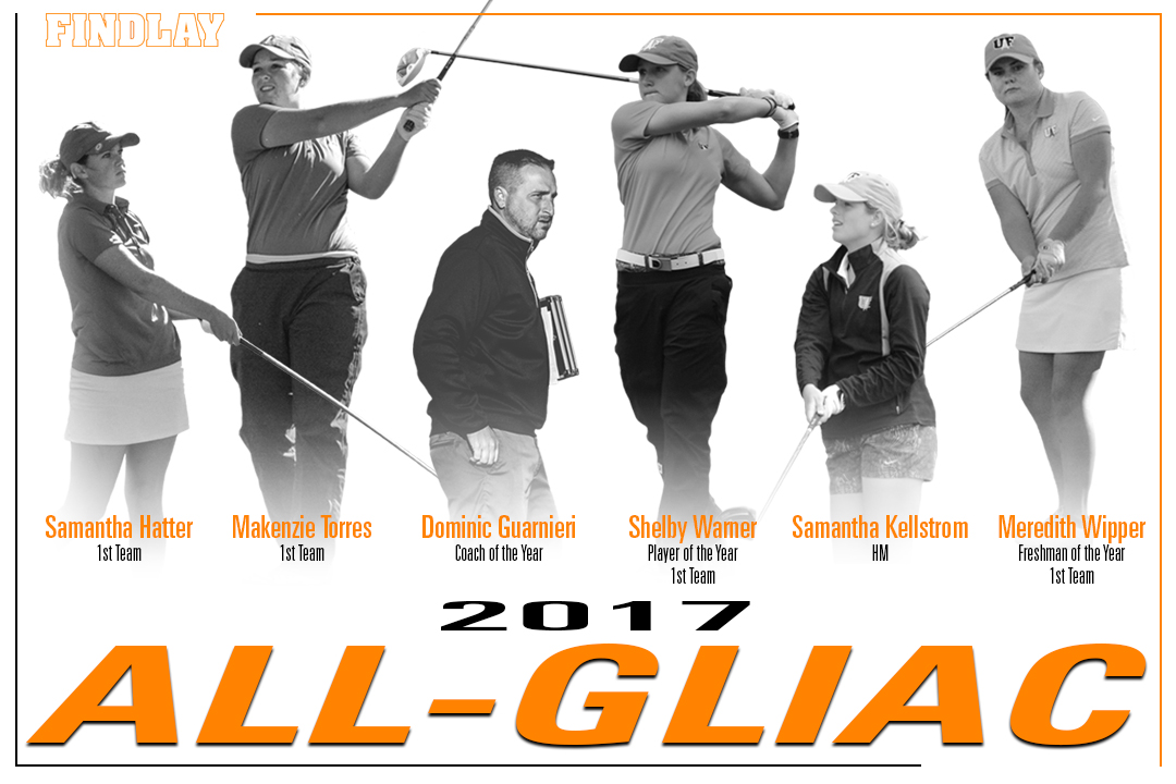 Women's Golf Sweeps GLIAC Awards