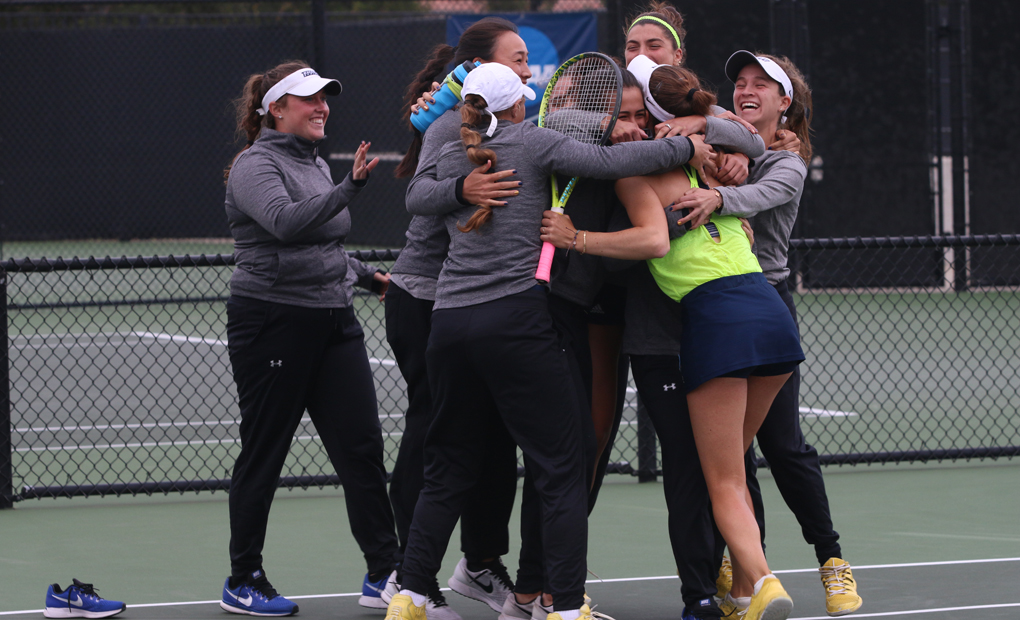 Women's Tennis Edges Middlebury, 5-4; NCAA Title Match Set Against Claremont-Mudd-Scripps