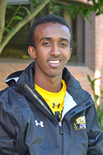 Sophomore Hassan Omar