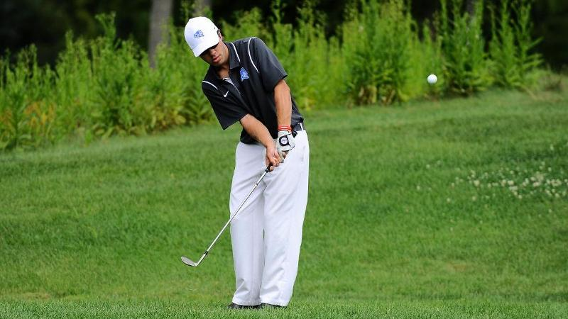 Men's Golf Tied for Ninth at Towson After Day One