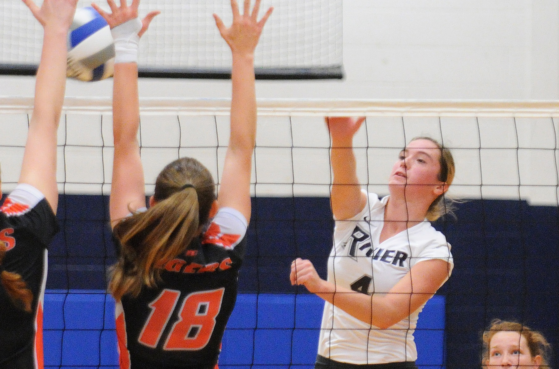 Women's Volleyball: Dunster, Raiders top Suffolk in four-sets